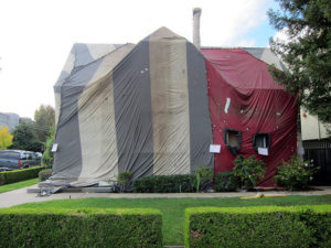 Termite Tenting Image Credits Liz hall & Termite Treatment Cost and Inspection Cost Guide